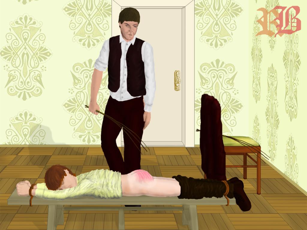 Naughty boys spanked drawings gay joshuah 9